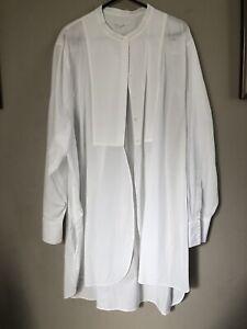 COS White Shirt Tunic L 44
