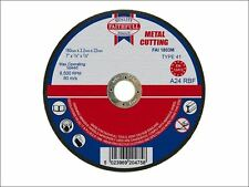 Faithfull - Cut Off Disc for Metal 180 x 3.2 x 22mm