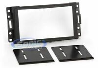 Scosche GM1595B Double DIN Install Car Dash Kit for Select 2000-13 GM Vehicles