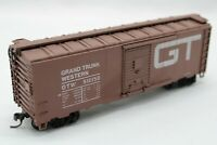 HO Scale ATHEARN 40' Single Door Boxcar - GRAND TRUNK WESTERN - GTW #516158