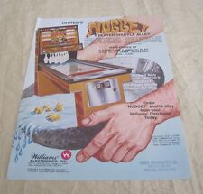 1977 Williams Nugget Arcade Flyer