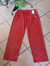 MAGNA Leggings Hose Kunstleder-Optik 44 46 NEU! rot Stretch HINGUCKER LAGENLOOK