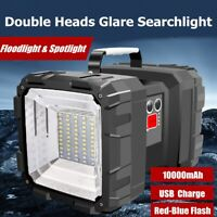 Rechargeable Handheld Spotlight USB Hunting Flashlight Torch LED Light Lamp AU