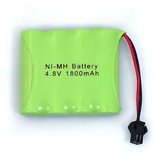 New 4.8V 1800mAh 4x AA NIMH RC Rechargeable Battery Pack with Small Clip Plug