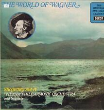 Wagner(Vinyl LP)The World Of-Decca-SPA 317-UK-VG/VG