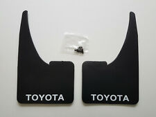 2 NEW TOYOTA Mudflaps + Fitting Screws  Universal Fit