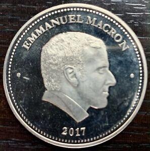Medal President de La Republic - Emmanuel Macron 2017