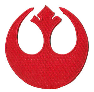 Patch Patched Star Wars Rebel Forces Thermoadhesive Embroidered