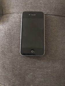 Apple iPhone 4 Space Black Working Condition Locked