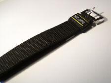 20mm Nylon Sport Band schwarz - Speidel