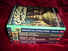 Lot of 4 PB Suzanne Collins Gregor Overlander Underland Chronicles Scholastic