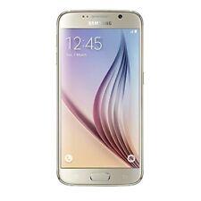 """SAMSUNG Galaxy S6 SM-G920 mobile 5.1"""" 4G LTE 32GB 16MP Sbloccato Macchina Fotografica Gold UK"""