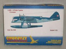 Choroszy Modelbud 1/72 Scale Polish LWS-5 Zubr Hydro Prototype