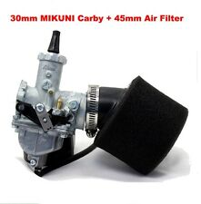 Mikuni VM26 30mm Carburetor Air Filter For 150cc 200cc 250cc Pit Dirt Bike ATV