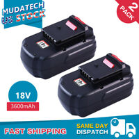 2Pack For Porter Cable 18V 3600mAh PC18B Battery Fit PCC489N PCMVC Cordless Tool