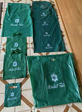 Vintage Marshall Fields Plastic Bag Lot LARGE SMALL Variety