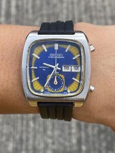 Vintage Seiko Monaco ref 7016-5011