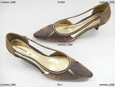 Clarice Emily Ladies Shoes Bronze 8.5 New