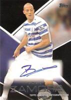 2014 Topps Premier League Gold Certified Autograph Cards Black Parallel /25