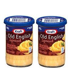 2 Pack Kraft Old English Sharp Cheddar Cheese Spread 5 oz Jar