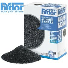 Hydor 400gm Activated Carbon for Aquarium Filter Media Saltwater Marine Tanks@