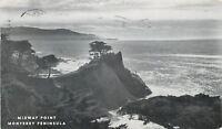 Monterey,California~Midway Point~Monterey Peninsula~1953