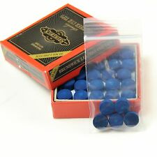 5 x 10mm in Pelle Blue Diamond Snooker Stecca Da Biliardo Punte-Free Carta Vetrata