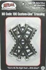 Atlas #175  60 Degree Crossing Track - HO Scale - Code 100 Rails
