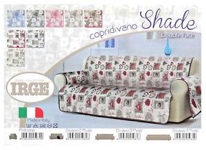 Made in Italy 2-3 posti Copridivano con PENISOLA IRGE art.ADATTO tinta unita
