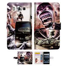 Iron Maiden Wallet Case Cover For Nokia 5 -- A014