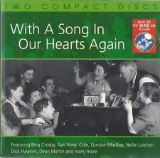 "NOW THE WAR IS OVER ""With A Song In Our Hearts Again"" Various Artists EMI [2 CD]"