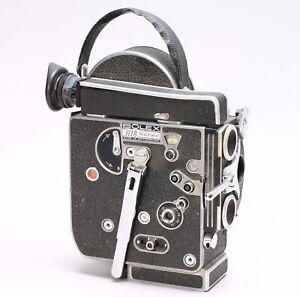BOLEX REX-4 16MM MOVIE CINE FILM CAMERA - for parts or repair