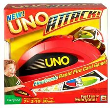 Uno Attack Card Game Vintage Game With Spin Master New Free Shipping