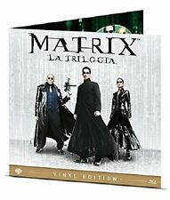 Matrix - La Trilogia Vinyl Edition (3 Blu-Ray) WARNER HOME VIDEO