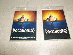 Disney Pocahontas Promo Packs Skybox 10 Card , Smaller Pack