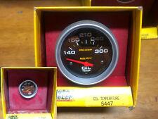 Auto Meter Oil Pressure Amp Temperature Gauge New