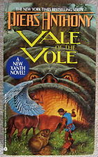Vale of the Vole (Xanth #10) by Piers Anthony Pb 1st Avon