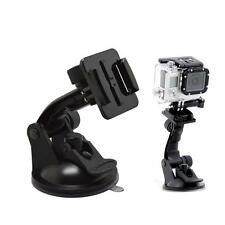 Car Window Windshield Glass Suction Cup Mount for Gopro Hero 1 Camera Black New