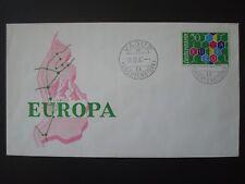 LIECHTENSTEIN 1960 EUROPA FDC