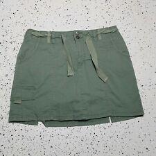 Gloria Vanderbilt Women's Skort/Skirt ~ Sz 10P ~ Green ~ Above Knee