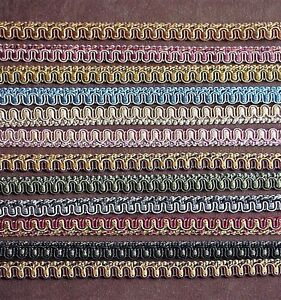 10 Yard 5//8 French Gimp Braid Trim Ribbon Scrapbooking Wedding Decoration 12 Colors nnLG15 Dark Brown