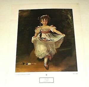 THOMAS LAWRENCE MISS MURRAY LITHOGRAPH PRINT 14 X 19 INCHES PLATE SIGNED
