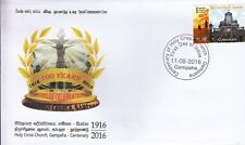 Special Commemorative Cover :  100th Anniversary - Holy Cross Church - Gampaha