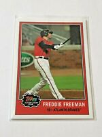 2021 Topps Future Stars Club Baseball January - Freddie Freeman - Atlanta Braves