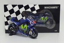 1 12 Minichamps Yamaha Yzr-m1 Moto GP Vinales 2017 Monster