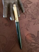 VINTAGE 14K SOLID GOLD TOP HALF EVERSHARP MECHANICAL PENCIL MADE IN USA WORKING