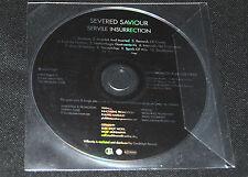 """SEVERED SAVIOR """"Servile Insurrection"""" CD-Promo mit Press-Fehler, Death Metal"""