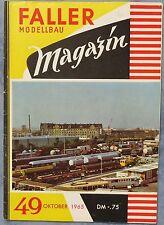 Faller  AMS --  Modellbau Magazin 49 von 1965