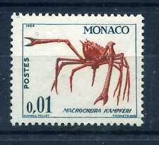 MONACO 1960 timbre 537A, poissons, CRABE, neuf**