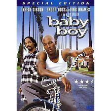 BABY BOY WIDESCREEN DVD MOVIE TYRESE GIBSON SNOOP DOGG VING RHAMES SPECIAL EDITI